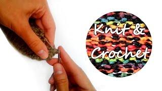 Уроки вязания. Как научиться вязать / Knitting. How to knitting