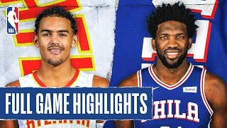 Hawks At 76ers | Full Game Highlights | February 24, 2020