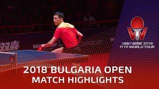 Xu Xin vs Kenta Matsudaira | 2018 Bulgaria Open Highlights (Final)