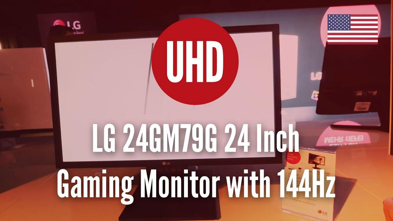 Lg 24gm79g 24 Inch Gaming Monitor With 144hz Youtube Full Hd B