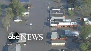 2 dams fail in Michigan l ABC News