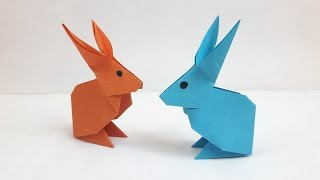 How to make a paper Rabbit?