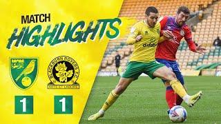 HIGHLIGHTS | Norwich City 1-1 Blackburn Rovers | Sky Bet Championship
