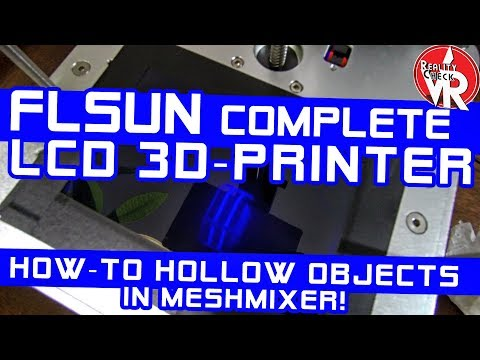 ✔ How-to SAVE RESIN! | FLSUN LCD/DLP/SLA 3D-Printer Update!