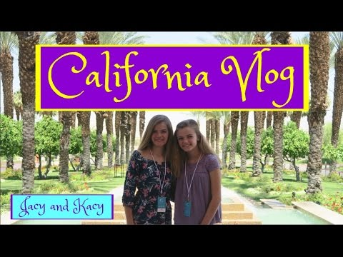 WE WENT TO CALIFORNIA! ~ 2017 Travel Vlog ~ Jacy and Kacy