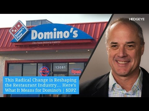 This Radical Change is Reshaping the Restaurant Industry… Here's What It Means for Domino's | $DPZ