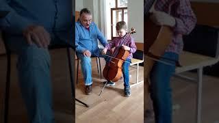 Уроки виолончели. Педагог Афанасьев М.Д.