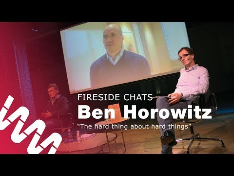 "Ben Horowitz: ""The Hard Thing About Hard Things"""