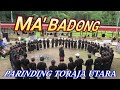 Ma'Badong di Parinding Toraja Utara Almarhum Daud Ro'son Tandipare