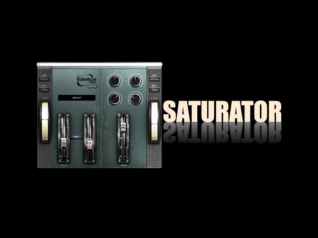 FD1N British Edition Tube EQ&Saturator - Babelson
