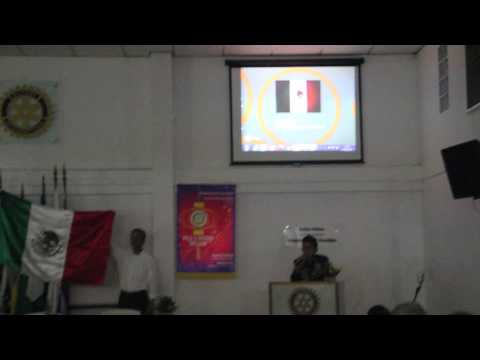 Rotary YEP - México, pelo inbound Juan Jaime Arellano Hernandez