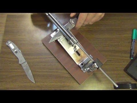 О заточке ножей.  Микроподвод, правка на мусате и заточка без фанатизма