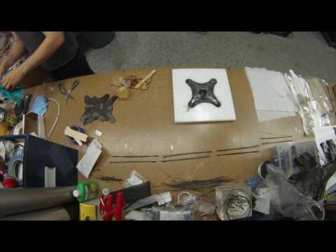 Timelapse - Carbon Fiber UAV Drone Frame Fabrication
