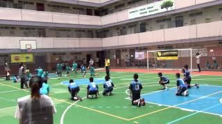 2014-15全港小學學界閃避球精英賽男小組 教院賽小VS泰