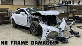 Rebuilding a Wrecked 2015 Lexus RC-F Part 2