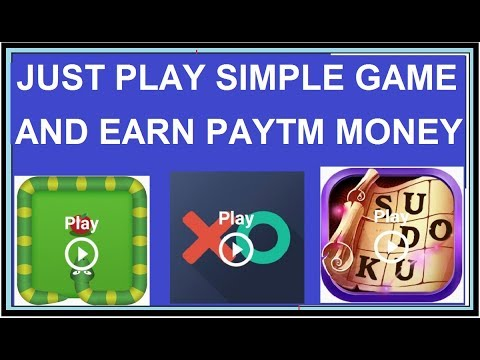 Just Play Simple Game Earn Unlimited Times Paytm Money
