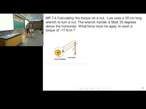 Unit 3 - Torque Examples (Hatch Lectures)