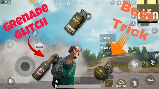 PUBG Mobile | Throwable/Grenade trick | Cancelling after Throw | Best trick for survive |