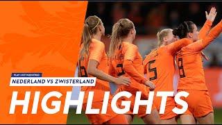 Samenvatting OranjeLeeuwinnen - Zwitserland (09/11/2018)