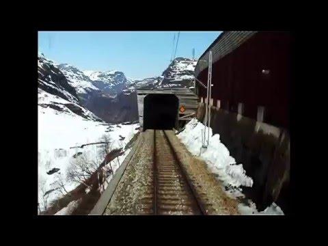 Flaam Railway - Flåmsbana - Flåmsbanen - Cab Ride  / El 17 2227