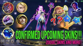 12 UPCOMING NEW SKINS! MOBILE LEGENDS NEW SKINS 2019! - ML LATEST UPDATE 2019!