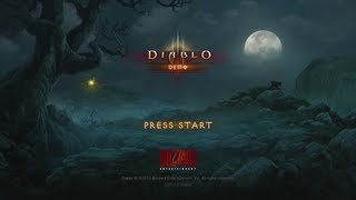 Diablo III - 40 Minute Gameplay Demo HD