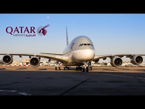 Flight Report onboard A380 Qatar Airways (Economy) from Pari