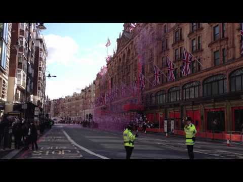 Jubilee celebrations - Harrods