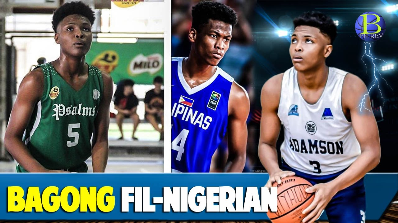 Joemakio Nikoro , another Fil-Nigerian Player | 16yrs old Gilas Youth Prospect