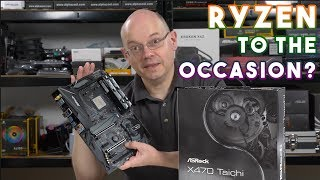 Asrock X470 Taichi Review - ASROCK RYZEN to the occasion?