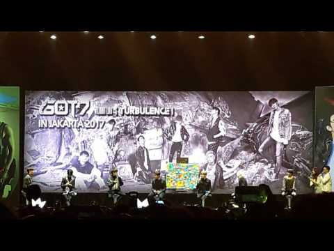 [180217] GOT7 GAMES SHOW + BOOM x3 +SKYWAY [TURBULENCE IN JAKARTA] [2/4]