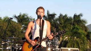 """""""Hanging By a Moment"""" by Lifehouse live at FIU in Miami, Florida on 11/6/10"""