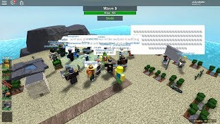 Survival Mode but There are too many Players | Tower Battles [ROBLOX]