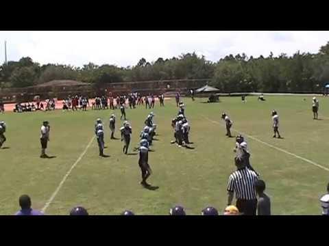 Palmetto Bay Broncos vs Florida City Razorbacks 120lbs 8/31/13