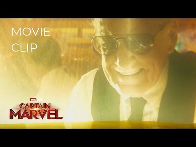 CAPTAIN MARVEL (2019) | Opening Logo Marvel Intro - Stan Lee
