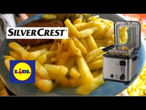 SILVERCREST SFM 840 A2 Mini Fryer With Fondue