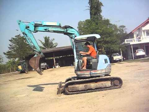 รถแม็คโครคูโบต้า-RX502 โทร. 085-4288184 ชัด