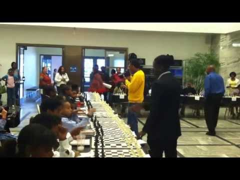 Detroit City Chess Club - Justus Williams Simultaneous - Detroit Institute of Arts