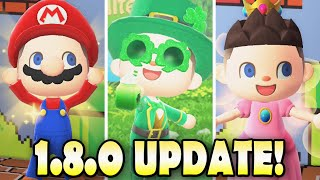 🍄 50 NEW ITËMS in 1.8.0 Update & How To Get Them in Animal Crossing New Horizons!