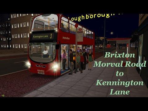 Omsi 2 TSLP Beta- 3 Brixton Morval Road to Kennington Lane
