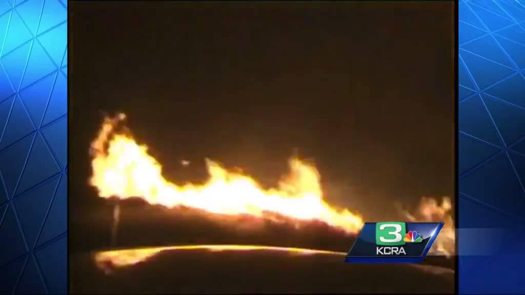 Sheriff dashcam video reveals explosiveness of Valley Fire