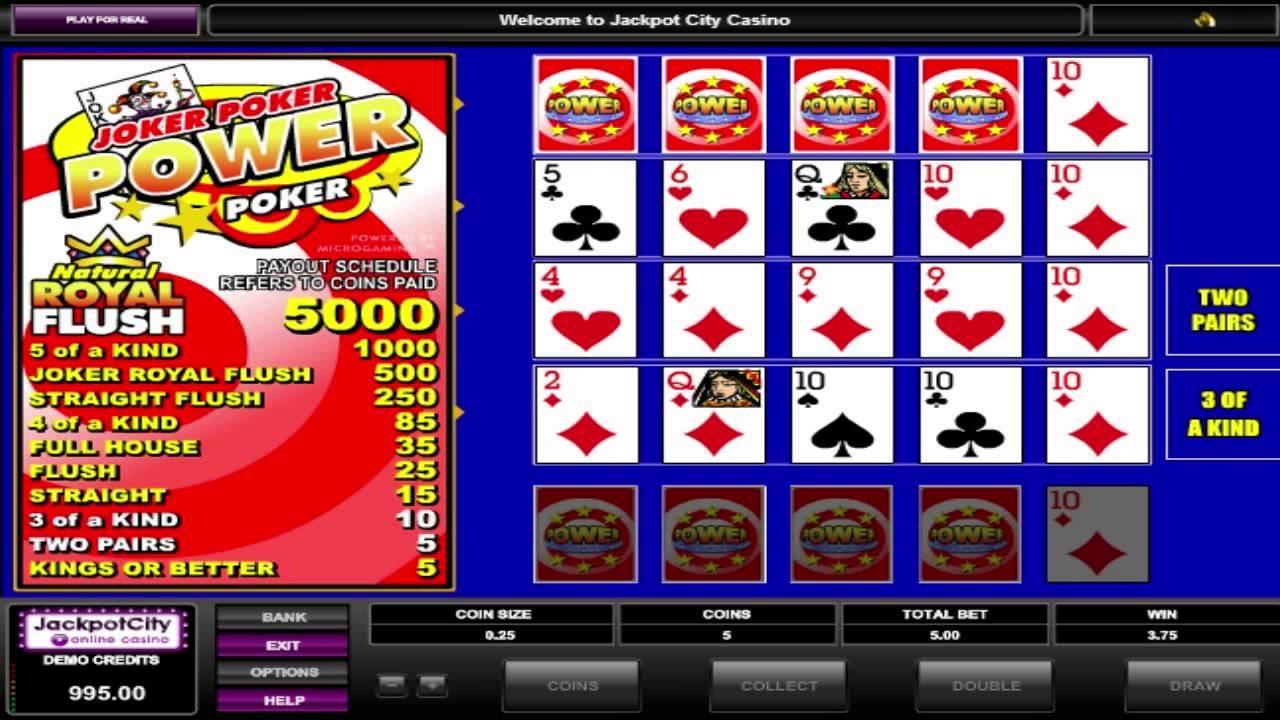 Slot Poker Machine Free
