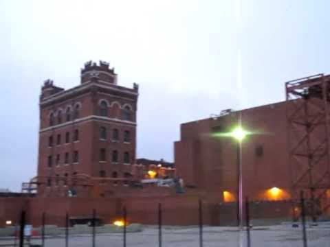 Anheuser-Busch Brewery View, The Largest Brewery in the World (St. Louis MO)