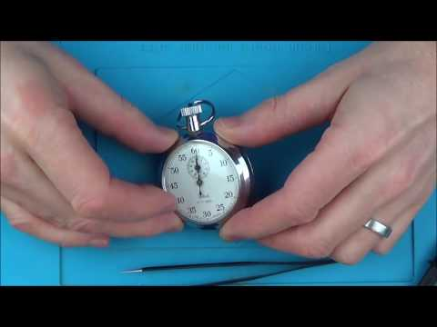 Trying To FIX A Faulty Mechanical SMITHS STOPWATCH