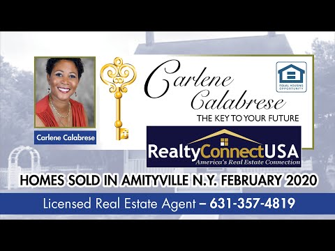 Sold Homes in Amityville NY - February 2020