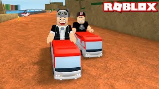 Wer am Ende geht, gewinnt! Wir sind in den Abenteuerbus - Roblox Ro-Trip mit Panda