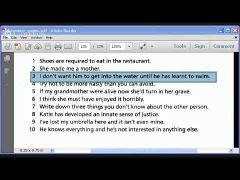 Ambiguity in English - Semantics