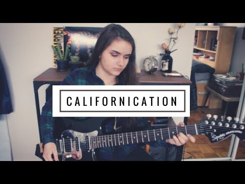 Californication - Red Hot Chili Peppers (Guitar Cover)