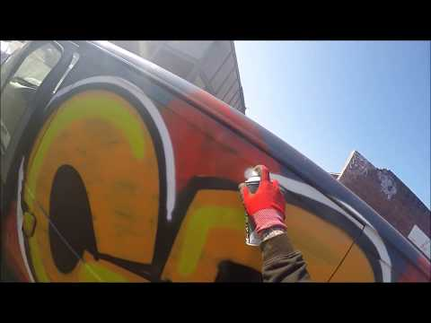 Graffiti - Ghost EA - Van Graffiti Raw Footage