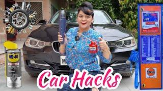 Testing Viral CAR HACKS   Fun Vlog